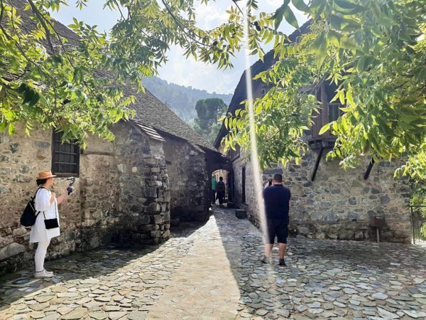 Zypern Nikosia Bergdorf Kalopanagiotis Kloster