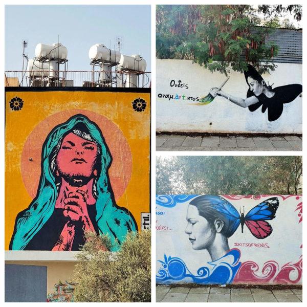 Zypern Nikosia Streetart